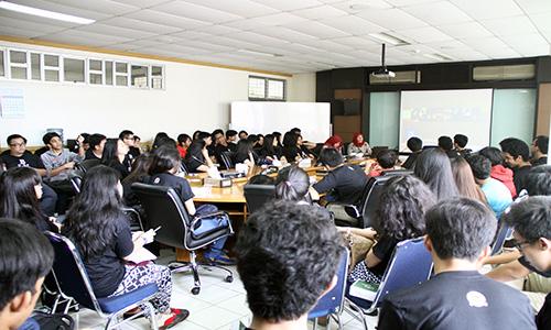 Kunjungan SMA Binus Internasional School