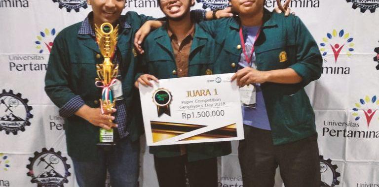 Mahasiswa Geofisika ITB Raih Juara 1 dan 2 Kategori Paper Competition