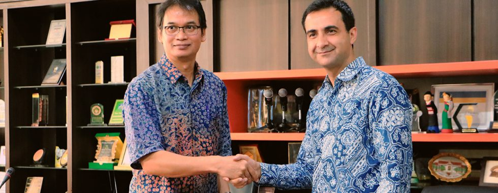 Kerjasama antara FTTM dengan PT Landmark Concurrent Solusi Indonesia