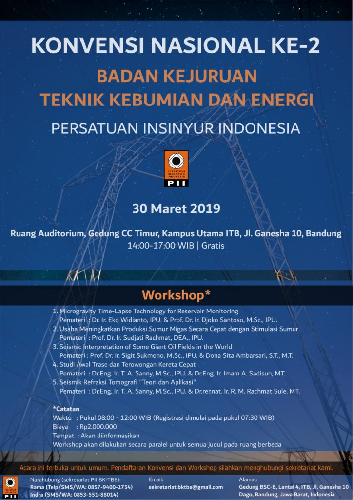 Konvensi Nasional Ke 2 persatuan insinyur indonesia