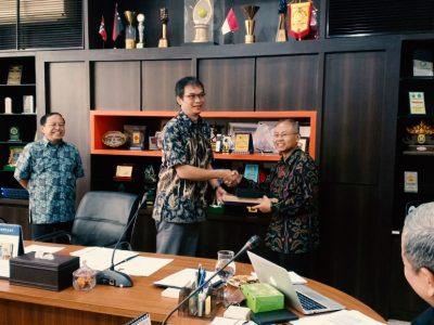 serah terima jabatan Ketua dan Sekretaris Senat FTTM ITB